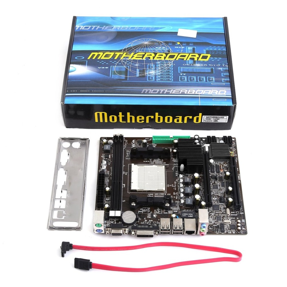 A780 carte mère ordinateur de bureau ordinateur carte mère CPU Support AM3 DDR3 double canal 16G VGA DVI SATA 2.0 USB 2.0