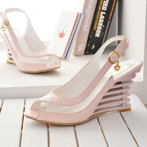 2017 Real Sandalias Mujer Big Plus Size Shoes Women Sandals Bottom High Heels Sapato Feminino Summer Style Chaussure Femme 3-2 2017 sandalias mujer ladies shoes fashion tenis feminino plus size women sandals sapato summer style chaussure femme bl 326 4
