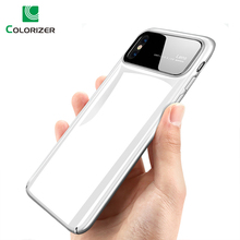 Luxury Smooth Mirror Case For iPhone X 8 7 6 6s Plus Cover Matte Hard PC Phone Cases XR XS Max Shockproof Armor