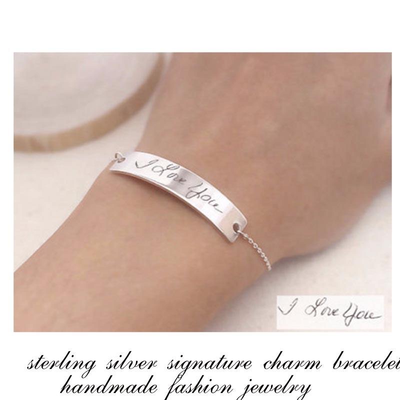signature handmade bracelet