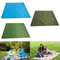 Waterproof Outdoor Camping 200X220cm Picnic Beach Mat Camping Tarpaulin Baby Play Mat Plaid Blanket Baby Climb Blanket