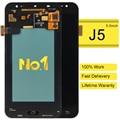 Alibaba de china de dhl 5 unids reemplazo digitalizador para samsung j5 sm-j500g j500fn j500m pantalla lcd pantalla del panel de tacto