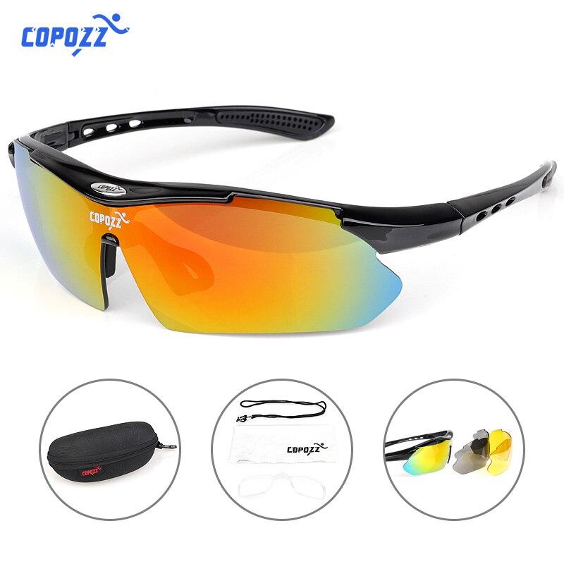 COPOZZ Radsportbrille 2018 männer frauen Mountainbike Fahrrad Radfahren Sonnenbrillen MTB Gläser Motorrad Sport Brillen Brille
