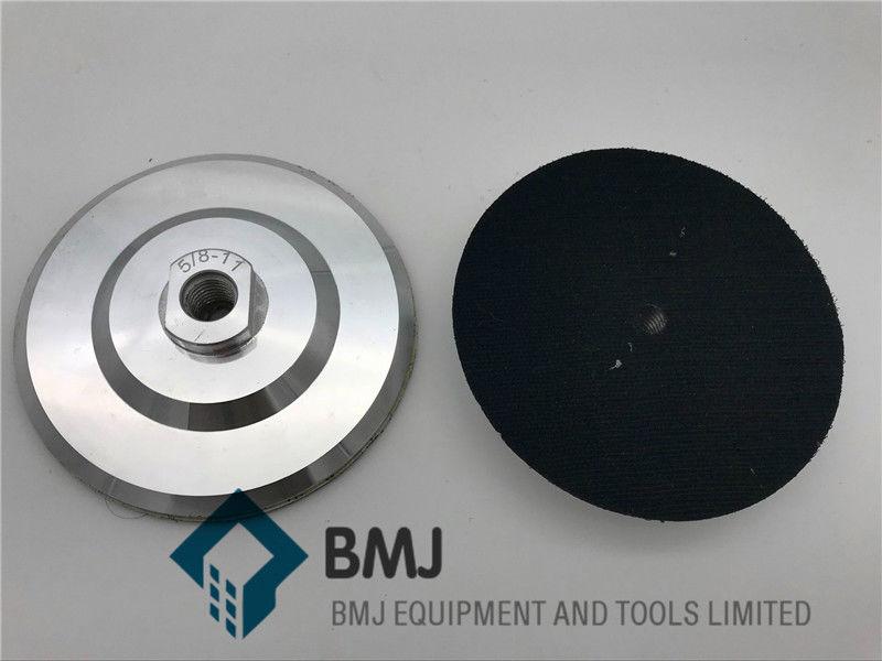 5 Inch Aluminum Backer Pad 5/8-11 Thread for Diamond Polishing Pad ccs 6 5 inch green polishing finishing pad 6 pack