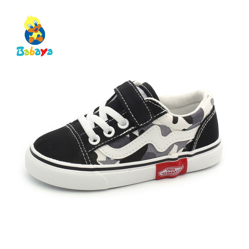 Children Canvas Shoes for Kids Sneakers Breathable New Spring 2019 Fashion Toddler Girl Shoes Kids Boys Casual Shoes