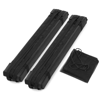 2pcs Soft Foam Block Roof Rack Bars for Car Rooftop Kayak Surfboard Cargo Carrier kayak surfing accessories