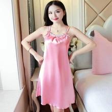 loral Mini Night Dress Nightgown Sexy Flower Lace Sleepwear Lingerie Underwear Nightwear Camisola Nighty Silk N30D