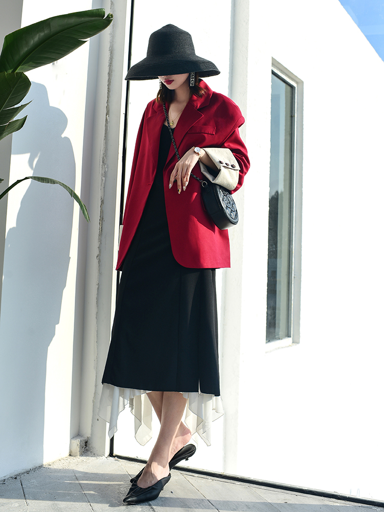 2019 Formal Office Lady Blazers Suits for Women Spring Suit Jacket Women Oversize  Korean Loose Chic Business  Suit Female