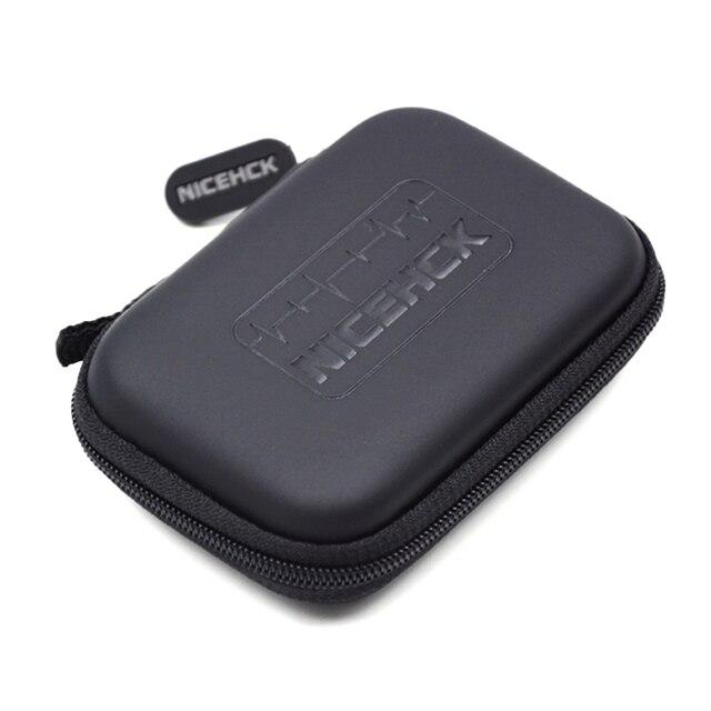 高品質オリジナルnicehckで耳イヤホンケースヘッドフォンポータブル収納ボックスバッグイヤホンアクセサリー収納袋