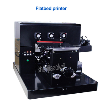 Flatbed printer flat plate universal printer for mobile phone shell shop,factory,advertising company printing equipment 110-220v