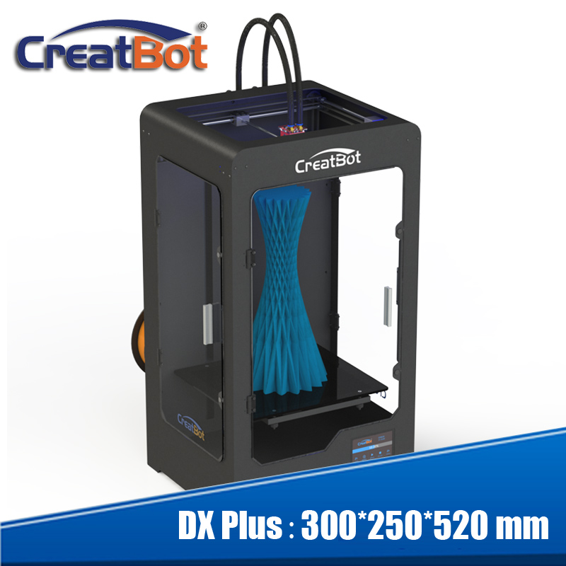 Large 3D Printer 300*250*520mm Metal Case Triple Nozzles/Three - Office Electronics