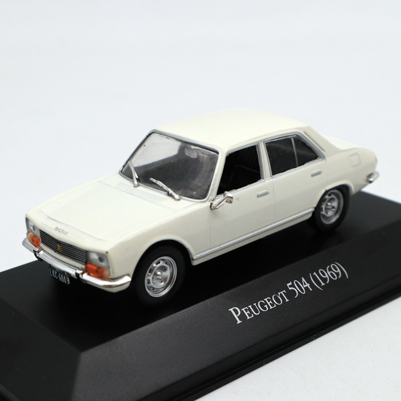 IXO Altaya <font><b>1</b></font>:<font><b>43</b></font> <font><b>Peugeot</b></font> 504 1969 Diecast <font><b>Models</b></font> Limited Edition Collection Toys <font><b>Car</b></font> image