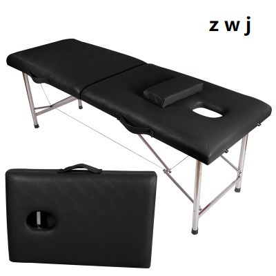 Us 190 0 Folding Beauty Bed Professional Portable Spa Massage Tables Foldable With Bag Salon Furniture Wooden In From On