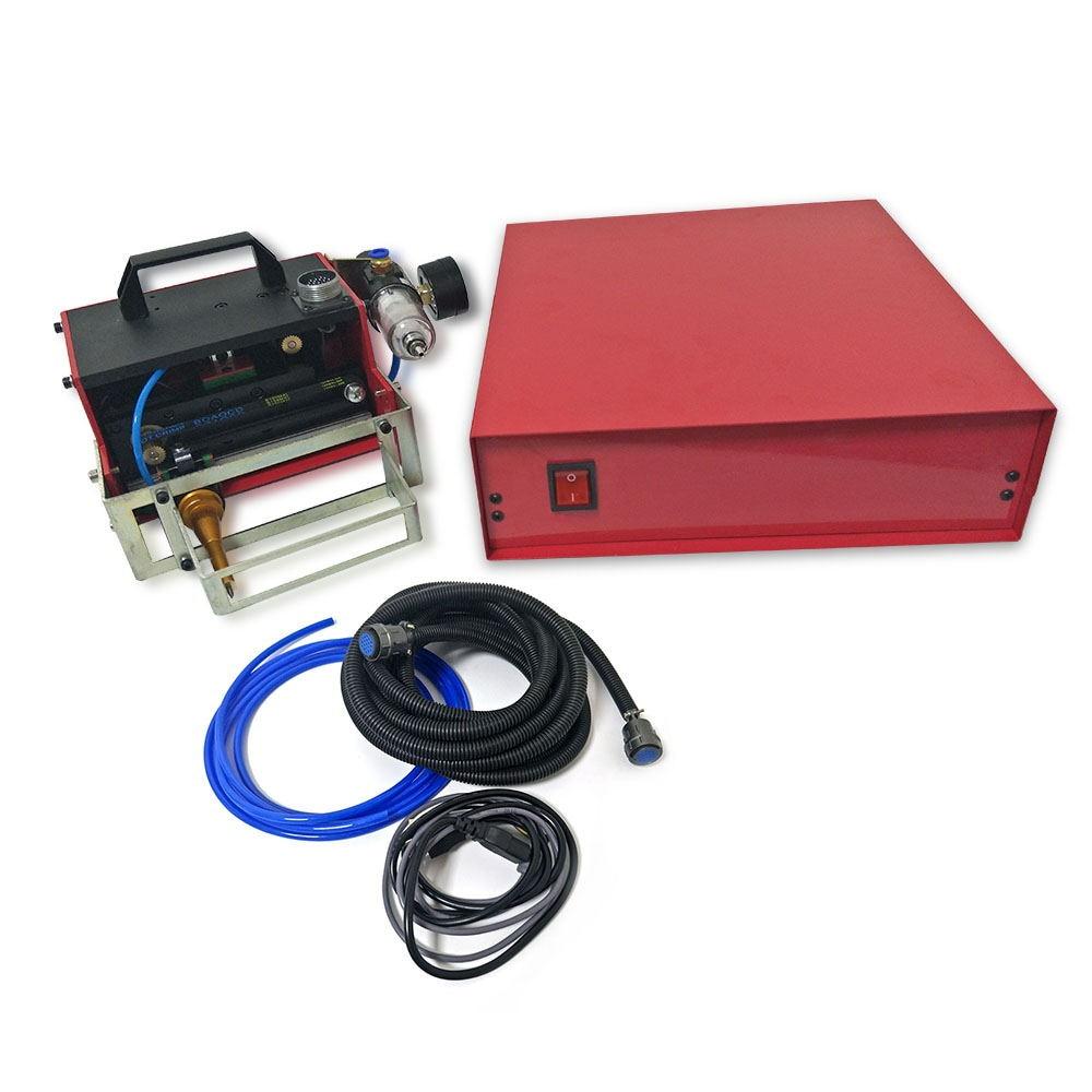 Motorcycle Pneumatic Dot Matrix Marking Machine VIN Code Portable Handheld Metal Engraving And Marking Machine