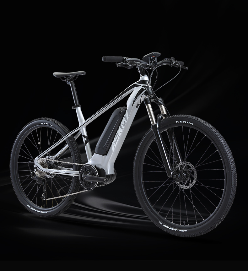 HTB1kSwdXE rK1Rjy0Fcq6zEvVXaI - 27.5inch electrical mountian bicycle 36V250W bafang mid-motor Hybrid bike electrical e-bike 9speed EMTB good LCD Off-road bicycle