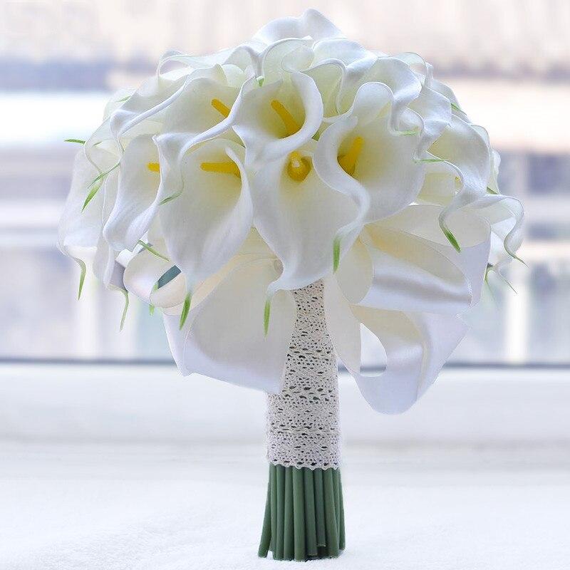 Свадебные букеты из калл для невесты 2017, доставки цветов
