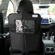 Cherrboll ПВХ Оксфорд автомобильное карманное сиденье для хранения заднего сиденья органайзер мульти функция Автомобильный ящик Универсальный укладка Tidying протектор