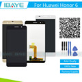 New For Huawei Honor 6 H60-L02 H60-L12 H60-L04 lcd display + touch screen digitizer assembly pantalla + tools + tracking Code