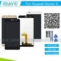 Nuevo para huawei honor 6 h60-l02 h60-l12 h60-l04 pantalla lcd + pantalla táctil digitalizador asamblea + herramientas + tracking código