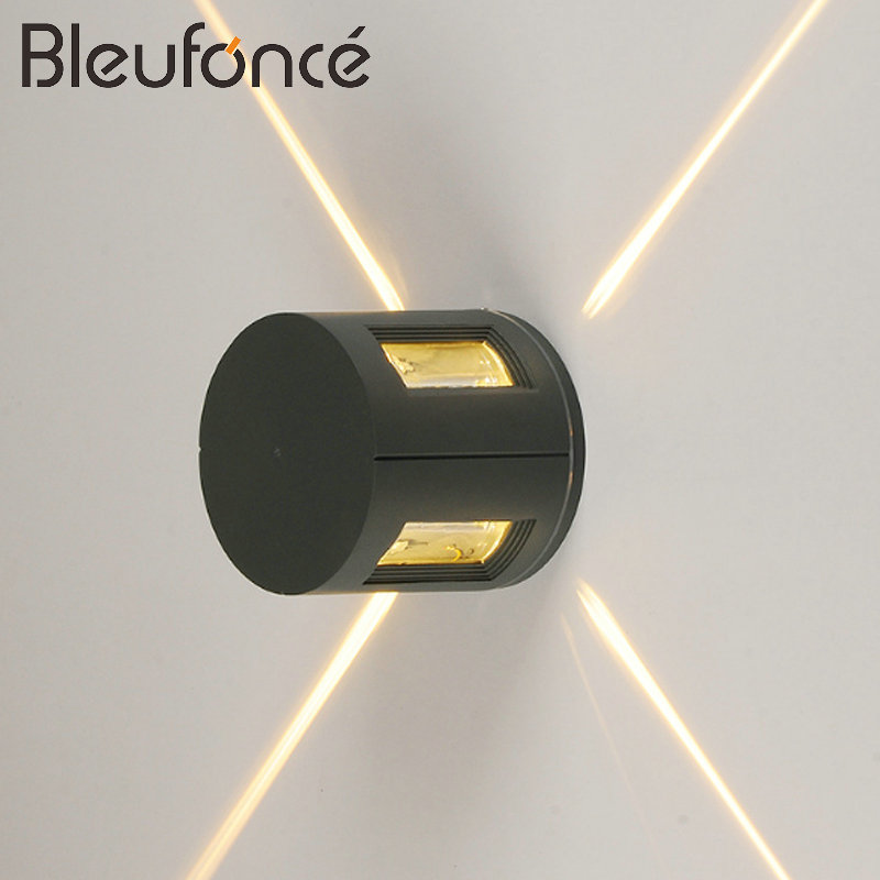Waterproof Outdoor Wall Lamp LED Porch Garden Lights Waterproof IP65 Wall Sconce Modern Simple E27 Decorative led Wall Lamp BL97 outdoor waterproof ip65 wall lamp modern led wall light indoor sconce decorative lighting porch garden lights wall lamps
