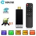 VONTAR X96S 4K TV Stick Android 8.1 4GB 32GB Amlogic S905Y2 Quad Core 2.4G&5GHz Dual Wifi BT4.2 1080P H.265 4K 60pfs TV Dongle