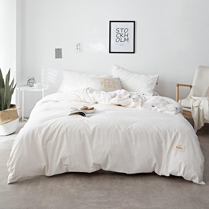 100 cotton soft duvet cover white christmas bedding sets