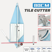 80CM Tile Cutter Ceramic Cutting Machine Desktop Manual Pull Handle Professional New Arrival