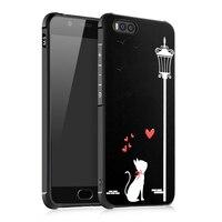 Newest Design For Xiaomi Mi6 Case 3D Rilief Cartoon Soft Silicon Tpu Protecor Back Cover For