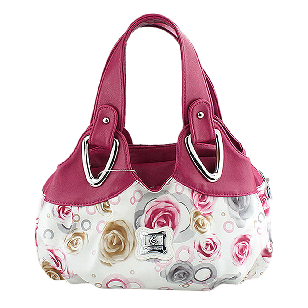 226365b84f Korean beautiful PU leather Tote handbag Printing six style Satchel drop  Bags WHOLESALES