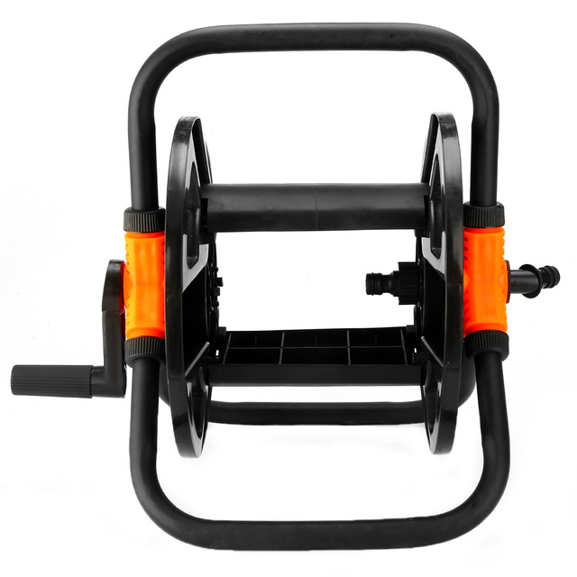 Portable Free Standing Hose Pipe Reel Holder Garden Cart Water Carrier For Irrigation Storage Tool