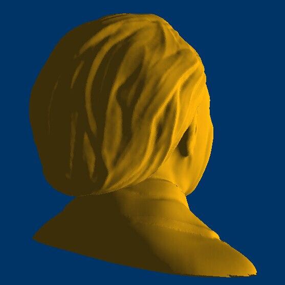 3D STL модель Альбера Эйнштейна для фрезерного станка с ЧПУ, скульптуры и принтера, 42 Мб