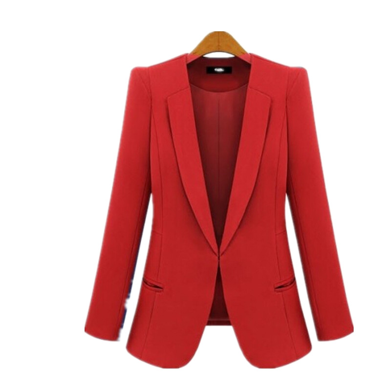 Red Womens Blazer - Baggage Clothing