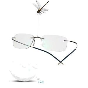 Image 3 - Gafas de sol de transición de titanio para hombre, gafas de lectura fotocromáticas para presbicia, hipermetropía, con dioptrías, para exteriores
