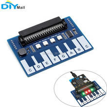 Mini Piano Module Expansion Board Capacitive Touch Controller TTP229 I2C Interface for Micro:bit Microbit Touch Keys Play Music ootdty mcp23017 16 bit io port expander module pin board i2c interface for arduino c51