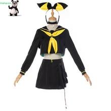 CosplayLove Vocaloid MAGIQUE MIRAI 10th Anniversaire לחיות קונצרט ווקאלי Kagamine רין Cosplay תלבושות עבור בנות תפור לפי מידה