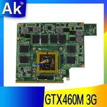AK GTX460M 12 памяти G53S G73S G53SX G53SW G73SW G73JW ноутбук Графический видео VGA карты 3g для ASUS G73JW G53JW G73 G53