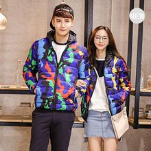 Моды для мужчин Корейский Стиль С Капюшоном Хлопка Ватные Куртки Зима Камуфляж Парки Для Любителей На Открытом Воздухе теплый Сверхлегкий Пальто 83003