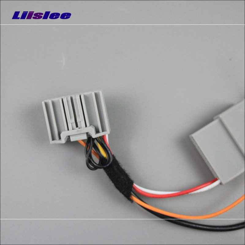 Автомобильная камера заднего вида RCA адаптер провода для Honda для Accord 9 2.4L 2012 ~ 2015 оригинальный RCA конвертер-соединитель кабель