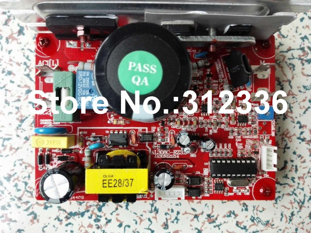 Free Shipping Motor Controller EVERE treadmill motherboard control circuit board computer under control board fast shipping dc motor for treadmill model a17280m046 p n 243340 pn f 215392