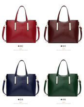 100% Genuine Leather Bag Large Women Leather Handbags Famous Brand Women Messenger Bags Big Ladies Shoulder Bag цены онлайн