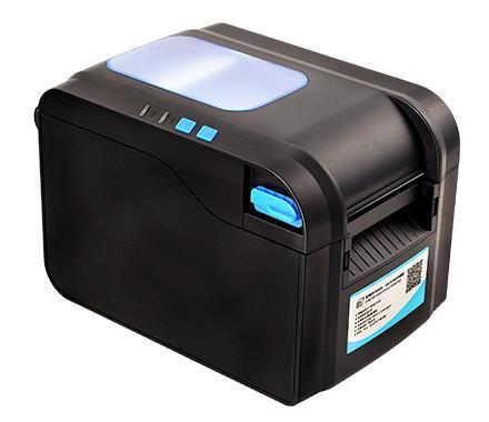 2017 оптовая высокое качество тепловой штрих-код этикетки принтер одежды теги супермаркете стикер принтера 370B