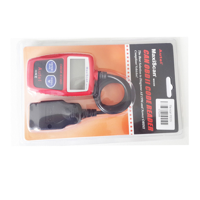 OBD TOOL New Autel MaxiScan MS309 CAN OBDII OBD2 EOBD Vehicle Scan MS 309 Car Bus Diagnostic Code Reader Tool Free Shipping