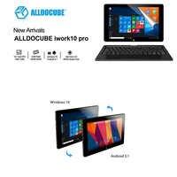 10.1 Tablet PC Alldocube iwork10 Pro Piena Vista IPS 1920*1200 Windows10 + Android5.1 Intel Atom x5-Z8350 4 GB di RAM 64 GB ROM Tablet