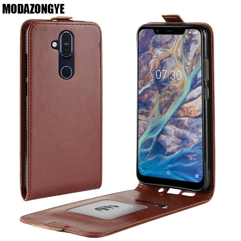 For Nokia 8.1 Case Nokia 8.1 2018 Case Wallet PU Leather Cover Phone Case For Nokia 8.1 TA-1119 TA-1128 Nokia8.1 Phoenix Case