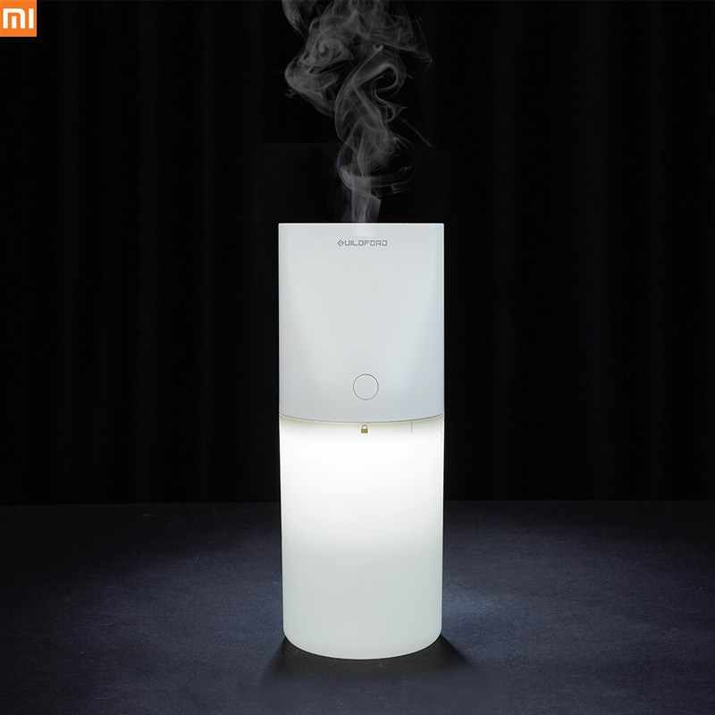Original Xiaomi Uildford USB Tabletop Humidifier Air Purifying with Night light Protable 320ML Quiet for Home Office Room