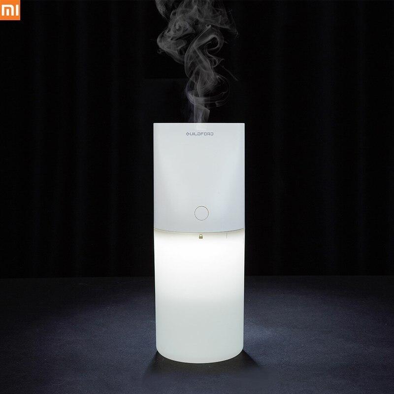 Original Xiaomi Uildford USB Mesa humidificador de aire purificador con luz de noche portátil 320 ml tranquilo para el hogar Oficina
