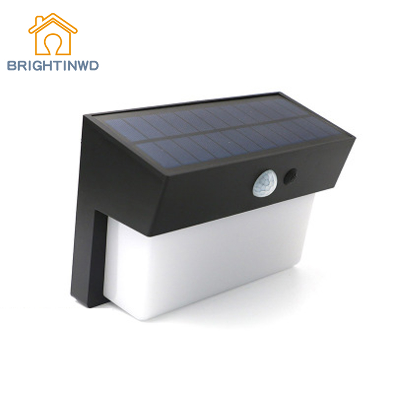 Solar Lights Human Sensor Wall Lamp 50LED Super Bright Waterproof Outdoor Lihting Emergency Street Garden Lights IP55 super bright outdoor waterproof human body induction led solar energy wall lamp