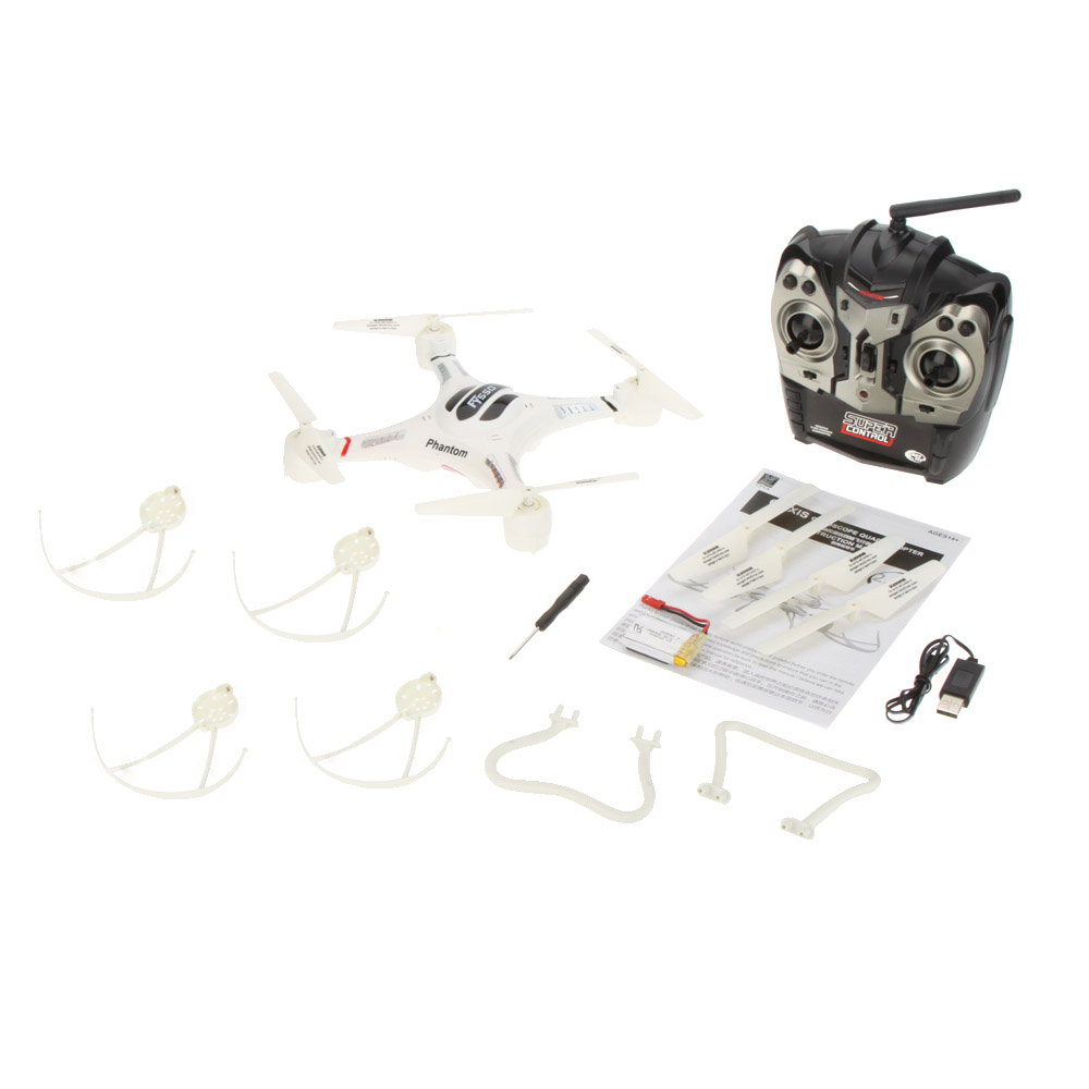 Fayee FY550 2.4G 4CH Speed Phantom RC Quadcopter 6-axis Gyro RC Helicopter