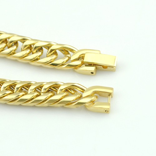 Boy's Men's Stainless Steel Link Chain Bracelet 16 Fashion Jewellery, Wholesale Free shipping, HB027 12