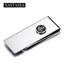 NASTASSA Minimalist font b Money b font Metal font b Clip b font Titanium Stainless Steel